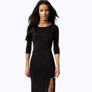 Black wedge trainers boohoo dresses
